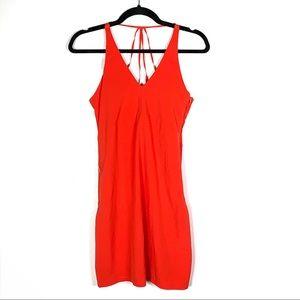 Athleta red athleisure tennis dress / swim cover